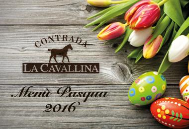 Pranzo Pasqua 2016 - Contrada La Cavallina