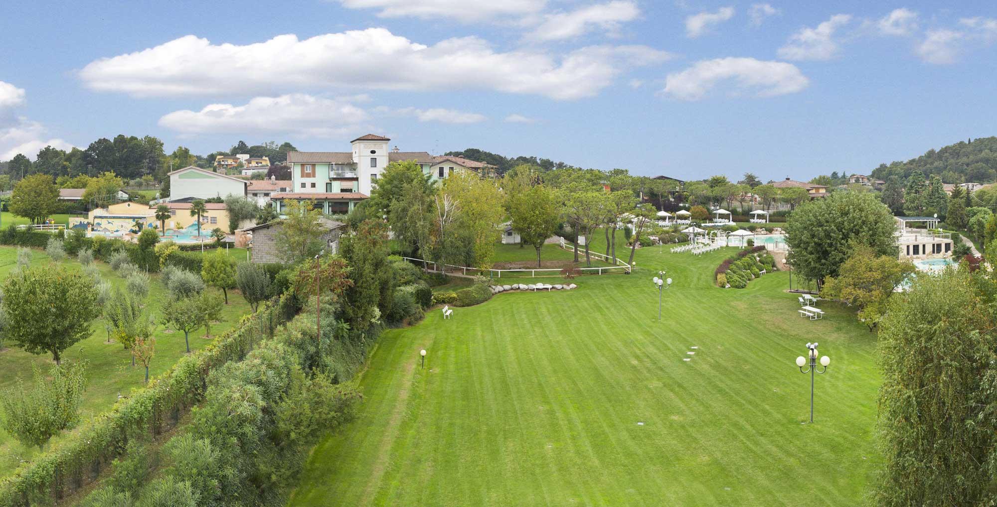 Contrada La Cavallina Location Lago di Garda panoramica